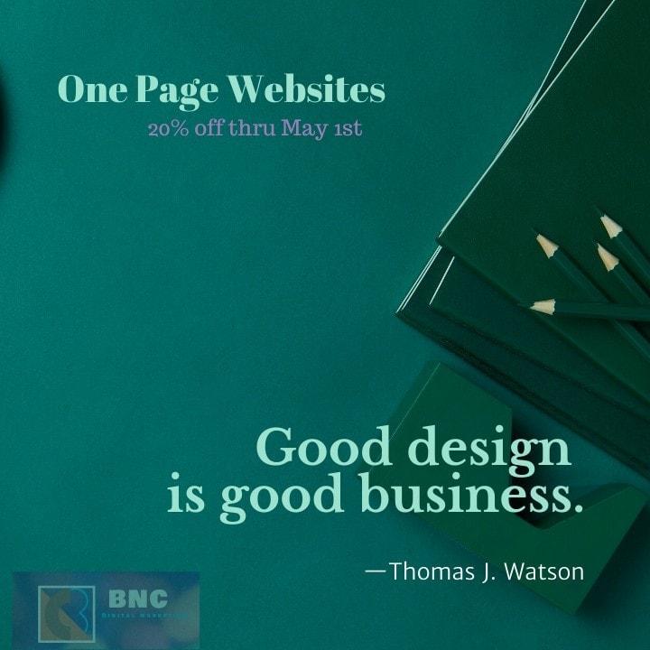 BNC DIGITAL MARKETING & WEBSITE SERVICES Portfolio SEO, Website Development, & Web Hosting Services